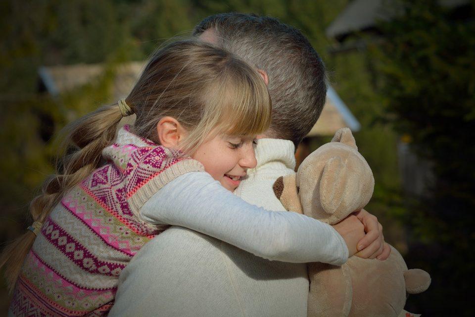 abbraccio cura
