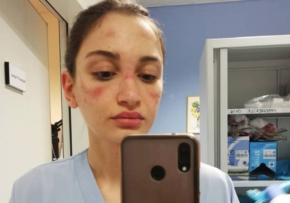 Alessia Bonari, l'infermiera simbolo della lotta al COVID19 devolve il cachet sanremese in beneficenza