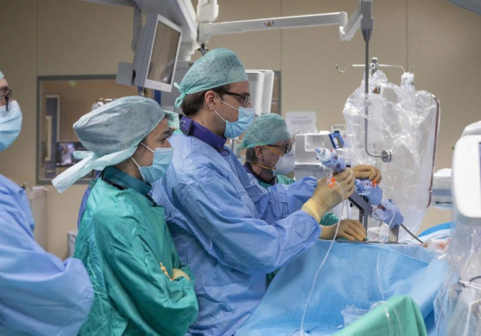 Primato italiano a Maria Cecilia Hospital per l'utilizzo di un device innovativo per il cuore (valvola tricuspide)